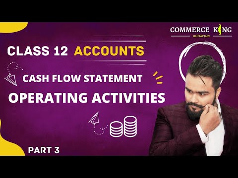 #116, Class 12 accounts (Cashflow statement: non cash and operating activities)