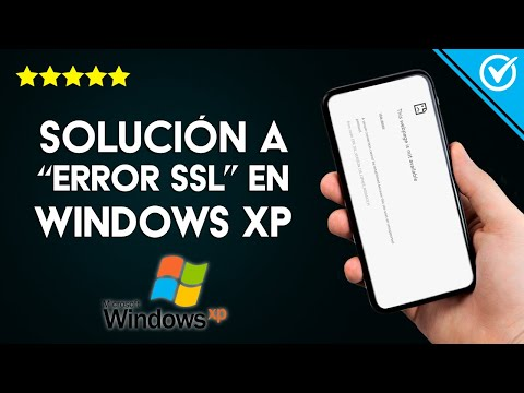 Solución: 'Error ERR_SSL_VERSION_OR_CIPHER_MISMATCH' en Windows XP