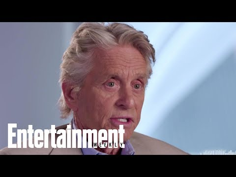 'AntMan And The Wasp': Michael Douglas On His CoStars  Entertainment Weekly