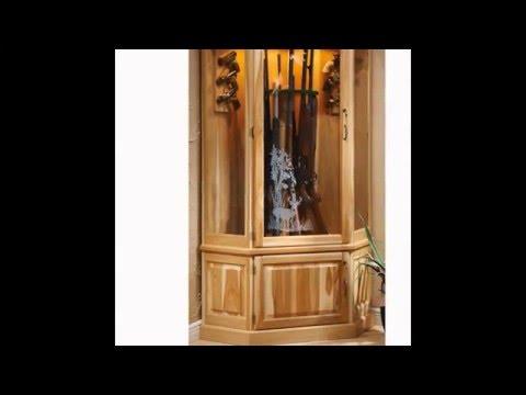 Gun Cabinet | Stack On Gun Cabinet | Wood Gun Cabinet Custom ...