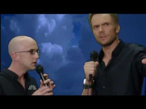 Community: Jeff Winger and Dean Pelton - Kiss From A Rose