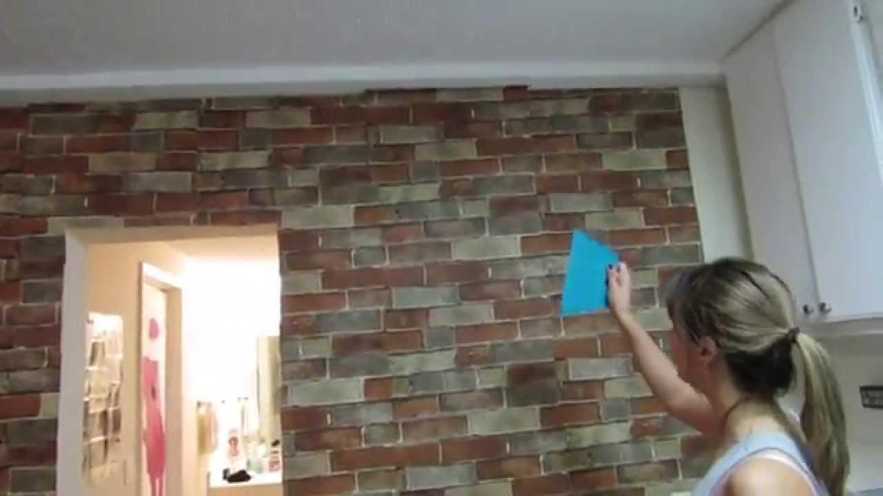 Colocando o Papel de Parede em Casa  YouTube