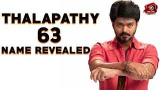 தளபதி எந்த Areaல இருந்து வராரு தெரியுமா? | Thalapathy63 Update | ThalapathyVijay | Atlee | Nettv4u