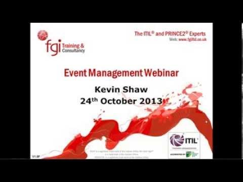 FGI Webinar: Event Management - The Forgotten Process