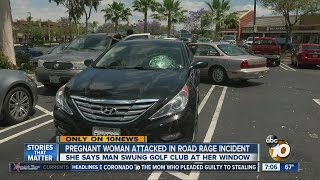 Pregnant woman says she was attacked in road rage incident