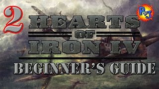 Hearts of Iron 4 Beginner Guide Tutorial Part 2 How to Conduct War on Land, Sea, Air