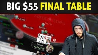 FINAL TABLE Big $55! Spoiler Alert! We WON $9,531