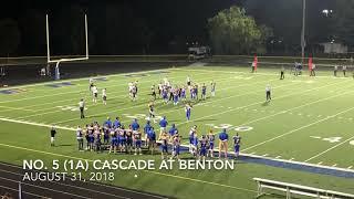 Football: Cascade at Benton