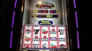 $1 Quick Hits slot bonus-Big win at Palazzo in November!