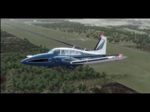 P3D / Alabeo PA23 Aztec F 250