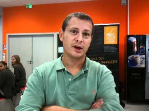 ISEG Finance School Bordeaux - Le point actu vu par Samuel Boileau - 14/10/2011