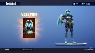 FORTNITE ? BUYING AND DANCING WITH THE NEW VALKYRIE SKIN