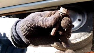 Как заменить тормозные диски и колодки на RENAULT LOGAN