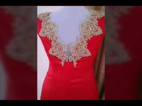 187a9b661 قنادر الأعراس باللون الأحمر - YouTube