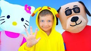 Привет Привет! - Детские песни - Макс и песни для детей