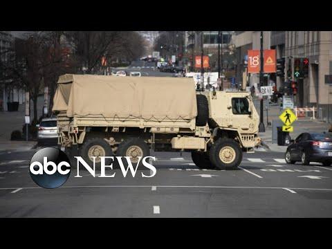 Washington, DC preps for Biden inauguration
