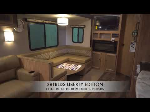 Freedom Express Liberty Edition 281RLDS Travel Trailers By