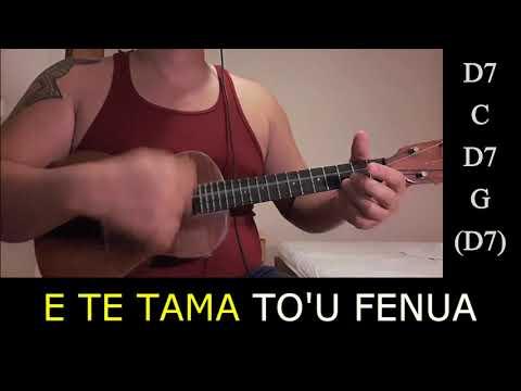 TE TAMA MA'OHI - Ukulele Cover with lyrics