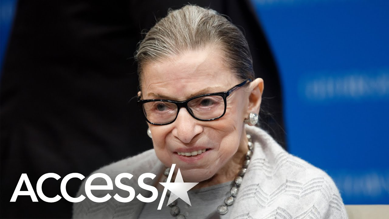 Ruth Bader Ginsburg's Trainer Does Push-Ups At Her Casket