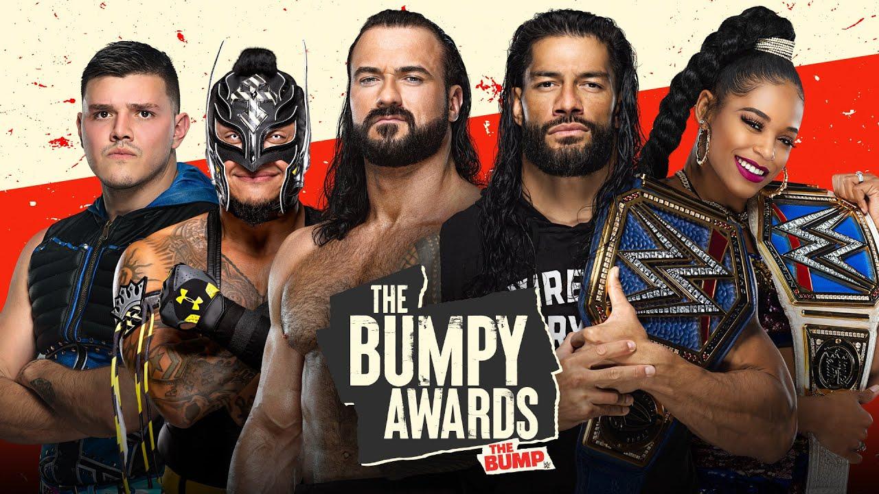 WWE 2021 Half-Year Bumpy Award Winners