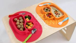 [ELD.dotrade.net] Safe Silicon Food Tray For Baby, Eco- friendly,  All in one by Mathos Loreley
