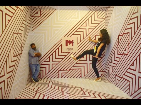 "Dubai's Latest Attraction ""Museum of Illusion"" l Dubai Al Seef l Ditto Raju"