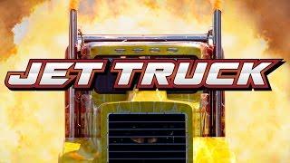 Jet Truck - Drag Race Trailer