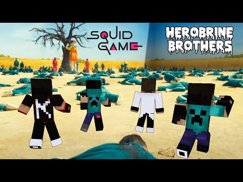 Download Squid Game - Green Light, Red Light FULL EPISODE - Sad Story - Monster School Minecraft Animation