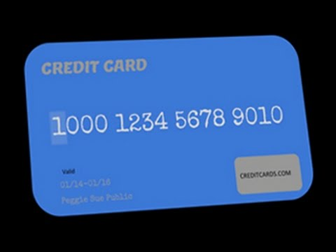 Anatomy of a credit card account number - YouTube