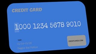Anatomy of a credit card account number