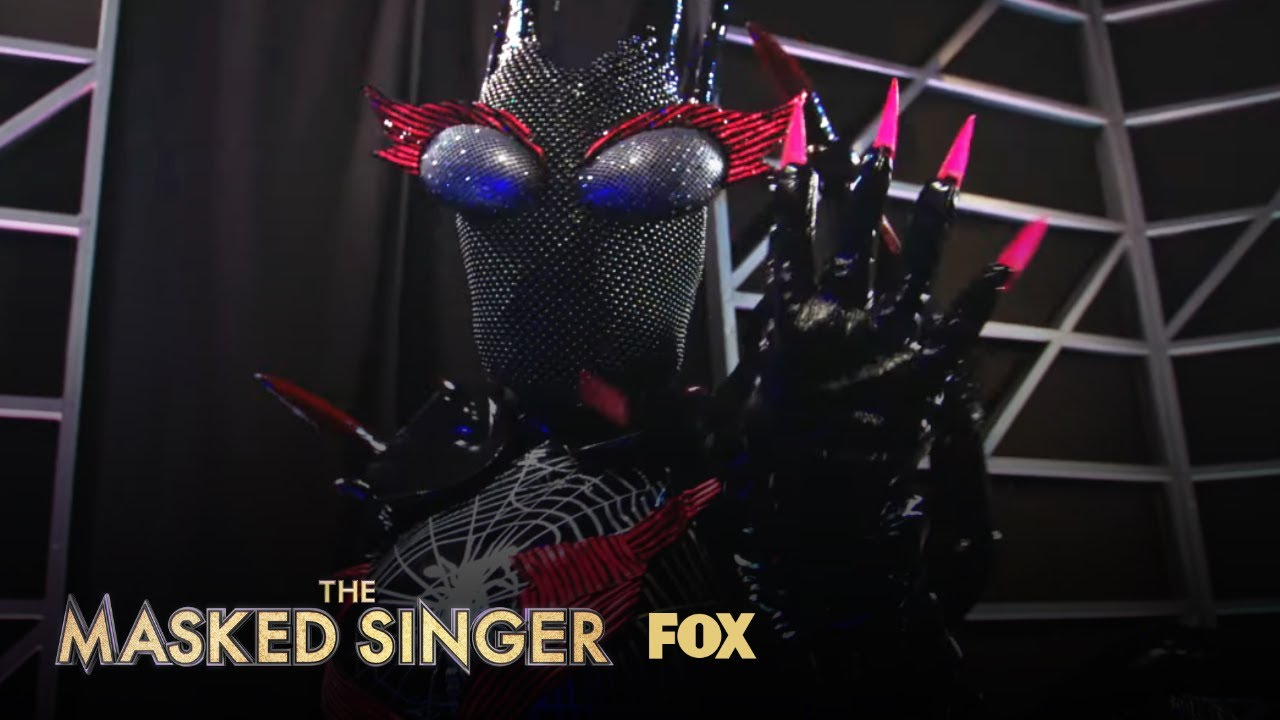 'The Masked Singer' spoilers: The Black Widow is