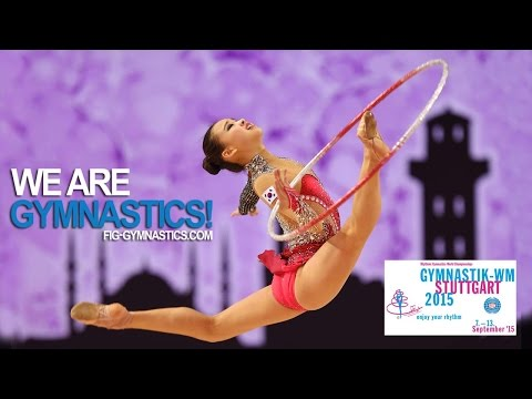 FULL REPLAY: 2015 Rhythmic Worlds, Stuttgart (GER) - Individuals All Around - Final (Rank 13-24)