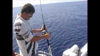 Кипр. Ловля тунца. Fishing Tuna in Cyprus-2012.www.southpalmira.com(Рыбалка на море.Ловля тунца на Кипре - 2012., 2013-03-20T18:45:52.000Z)