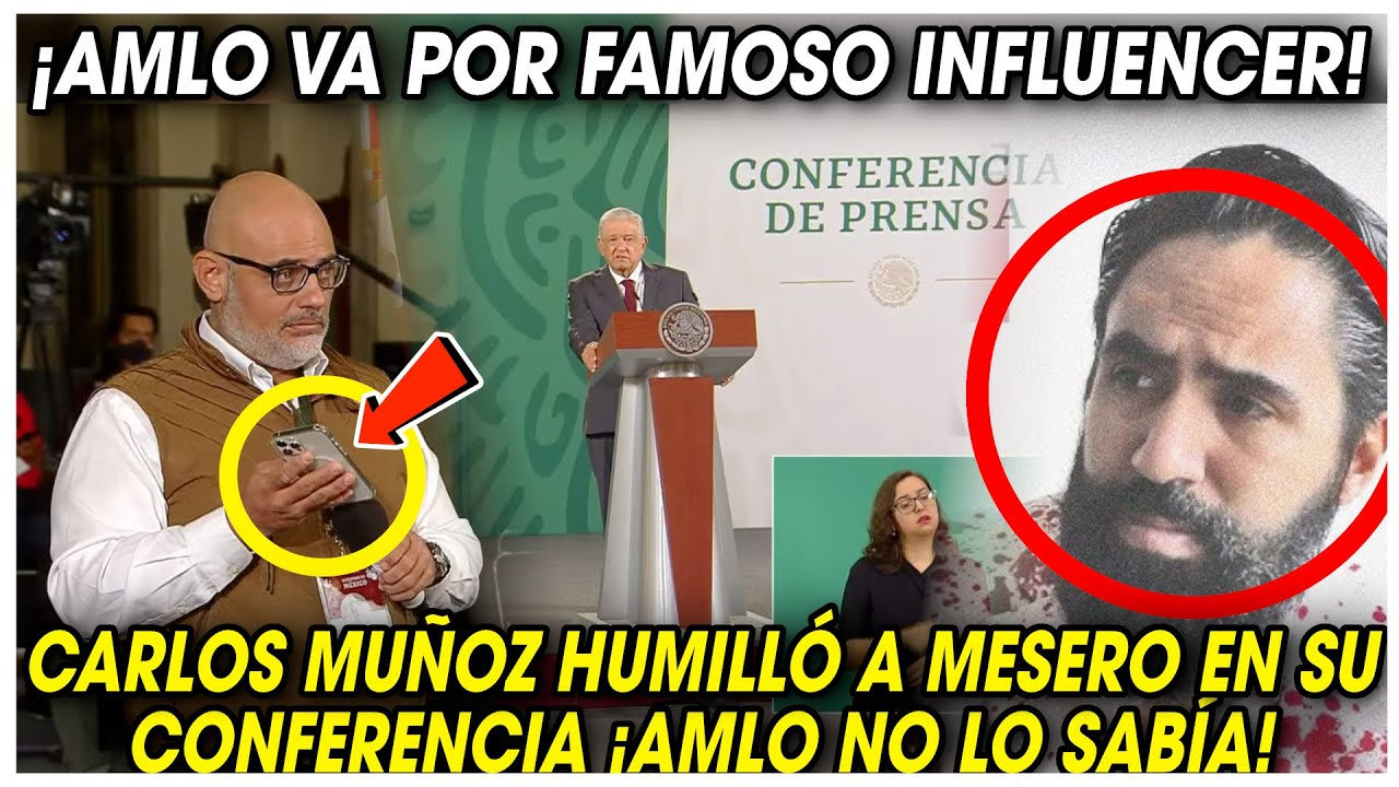 ¡AGÁRRATE! Reportero le MOSTRÓ HMU1LLANTE AUDIO de FAMOSO INFLUENCER que se BURLÓ de un MESERO