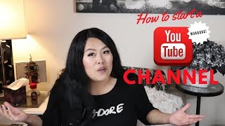 How to start a YouTube Channel (Mukbang)! Advice from a newbie