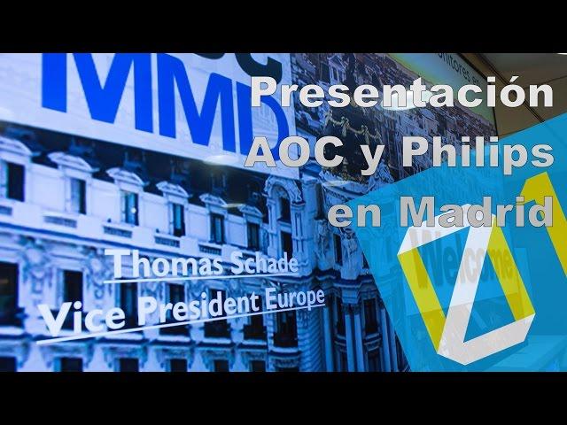 Presentación AOC y Philips Madrid septiembre 2016