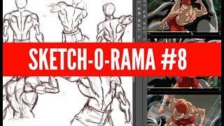 Sketch-O-Rama! #8: Baki the Grappler (Part 1)