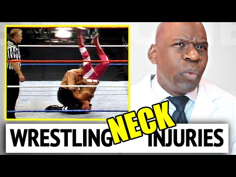 7 Classic WRESTLING NECK INJURIES Explained by Dr Chris Raynor