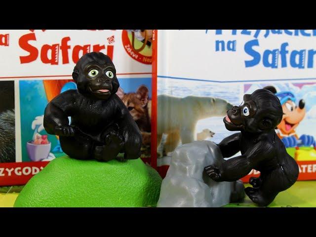 Przyjaciele na Safari #31 • Disney • Gorylątko Elsie • Encyklopedia zwierząt z zabawkami