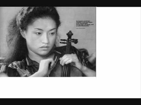 Kyung Wha Chung LIVE 1973 Sibelius concerto mvt 1 part 1
