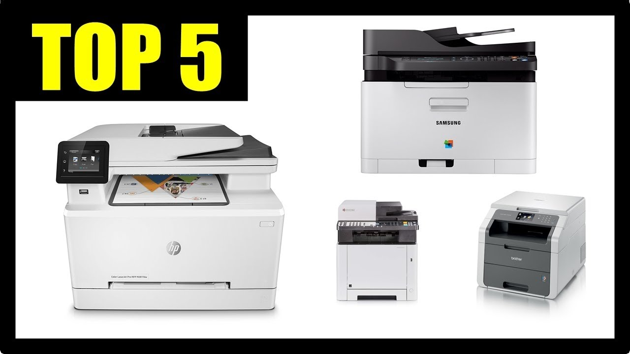 Multifunktionsdrucker Vergleich 2018 Farblaserdrucker
