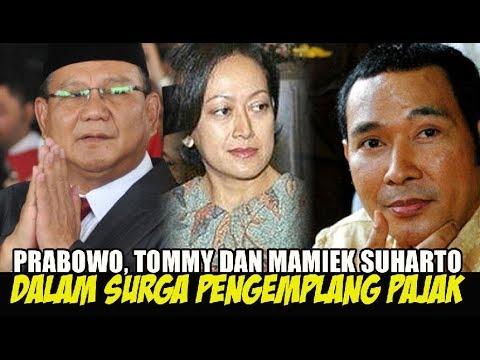 Tercantum dalam Paradise Papers, Begini Respons Prabowo Subanto, Tommy Soeharto, dan Mamiek Soeharto