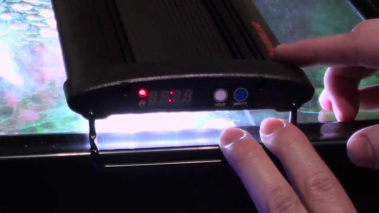 medium resolution of marineland led light with integrated timer setup guide