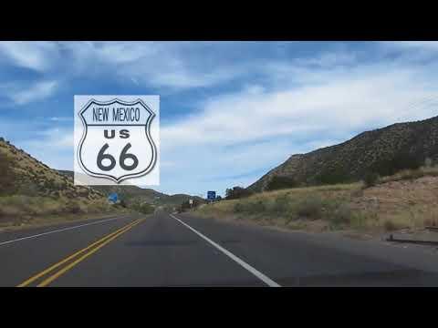 USA Trip: Day 41 - Rt. 66 Musical Road, Tijeras, NM - August 1, 2015 - Beezak