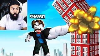 CHAPATI BANA STRONGEST MAN | ROBLOX