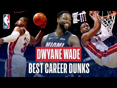 Marquette Courtside - Career Highlights: Dwyane Wade's Best Dunks