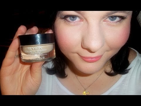 REVIEW & DEMO: REVLON COLORSTAY Whipped Creme Foundation Makeup ...