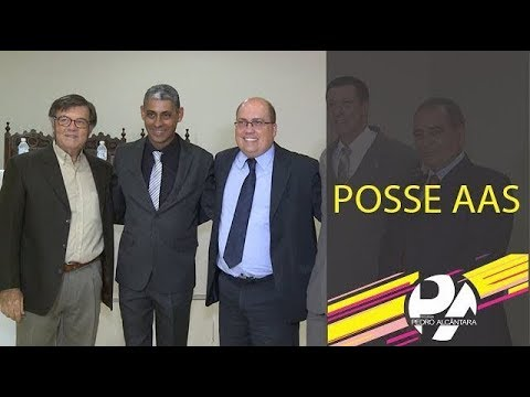 [21.03.2018] Programa Pedro Alcântara - Posse Da Associação Dos Advogados De Santos