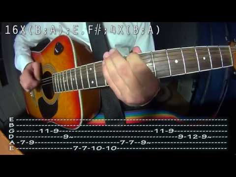 How to play  Tito & Tarantula  After Dark, easy guitar lesson