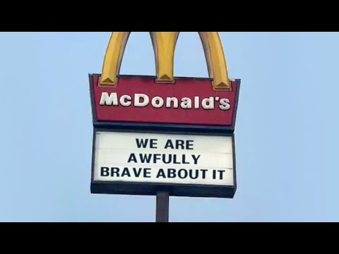 McDonald's - We are awfully brave about it (Mcdonalds Parody)